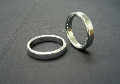 "Chrome Cockring ""Narrow"""