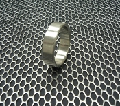 "Stainless Steel Cockring ""Wide"""