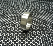"Stainless Steel Cockring ""Extra Wide"""