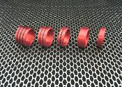 - Anodized Head / Shaft (Glans ) Rings