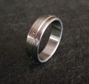 Divet Single Stainless Steel Cockring from Ballistic Metal
