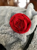 Cuddle Rose Sex Towel